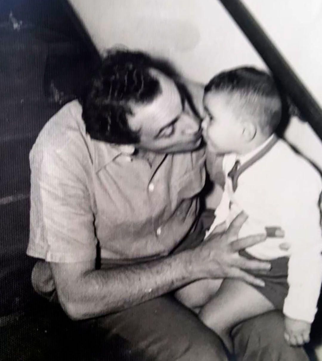 Alejandro Romay y su hijo Omar