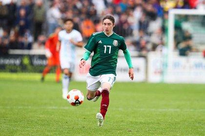 Marcelo Flores podría representar a México, Canadá o Inglaterra (Foto: Twitter/Fer_moreno17)