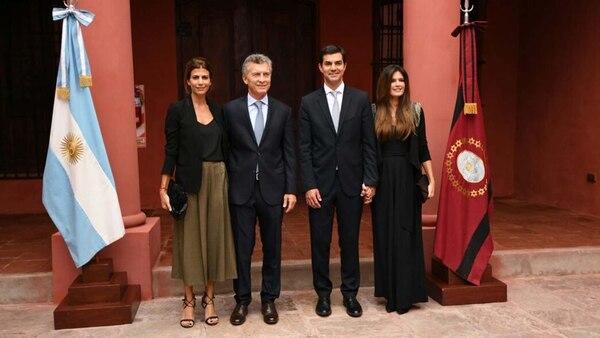 Juan Manuel Urtubey junto al presidente Mauricio Macri