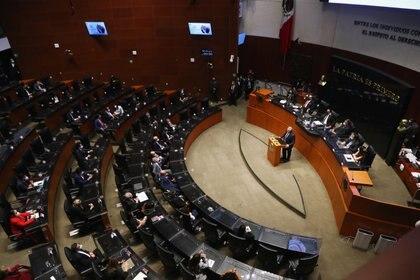 El discurso del presidente argentino se enfocó en reforzar las acciones para que México y Argentina alcancen la inmunidad contra el COVID-19. (Foto: REUTERS/Henry Romero)