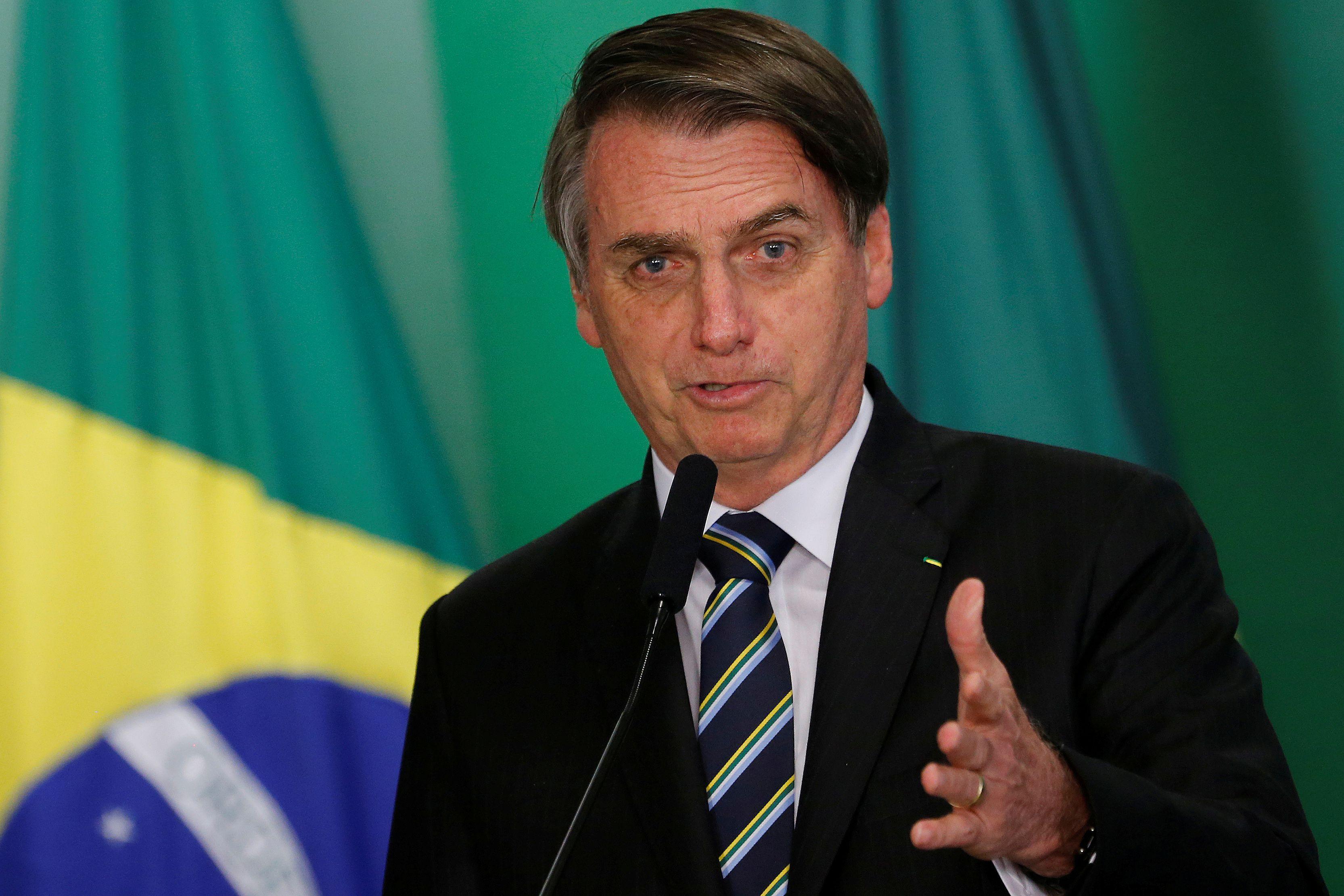Jair Bolsonaro asumió como presidente de Brasil a principios del este año. (REUTERS/Adriano Machado/archivo)