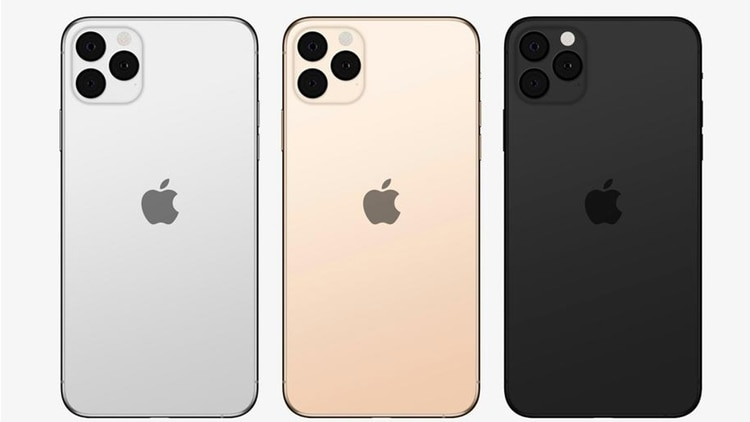 Así se verían los próximos iPhone 11, según los rumores (Ben Geskin).