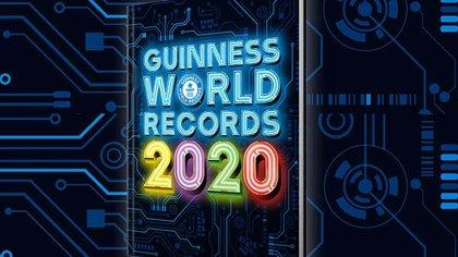 La tapa del nuevo libro Guinness de los récords mundiales 2020.