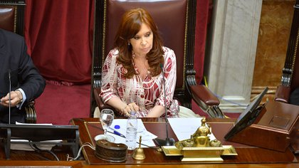 La Vicepresidenta estará al frente de la última sesión Extraordinaria (Gustavo Gavotti)