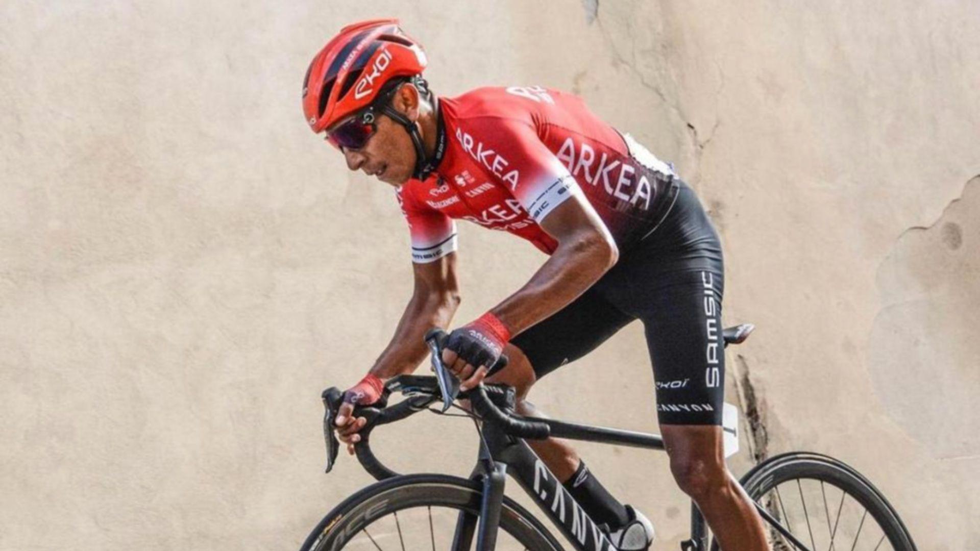 Su equipo Arkéa-Samsic hizo público un video en el que se ve la experiencia de Nairo en su primera carrera del año. Vía: Arkéa Samsic