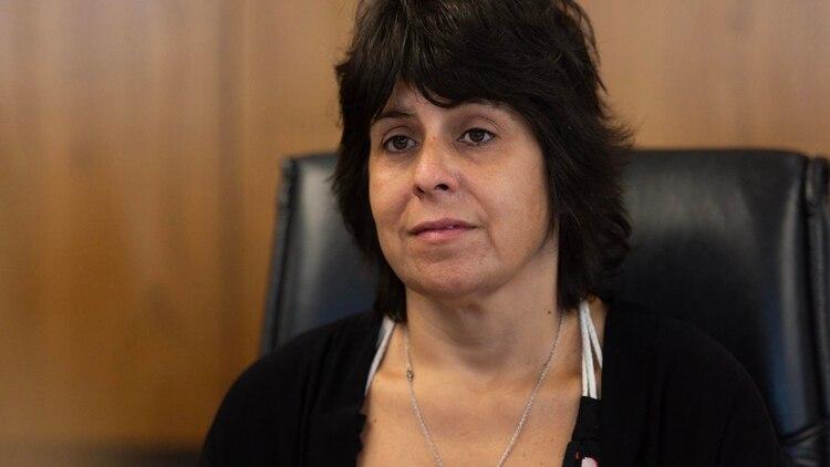 Érica Borda litigó contra el Estado y tres empresas y logró que deban incorporar un cupo de 30% de conductoras mujeres (Adrián Escandar)