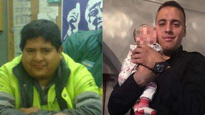 Las víctimas, Roberto Bonifacio y Esteban Lagos