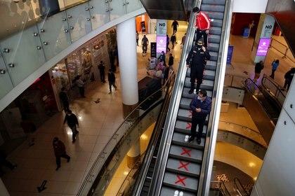 Centro comercial en Lima, Perú, el 22 de junio de 2020 (Reuters)