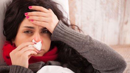 Las infecciones eb esta época del año son, en su gran mayoría, cuadros virales (Shutterstock)