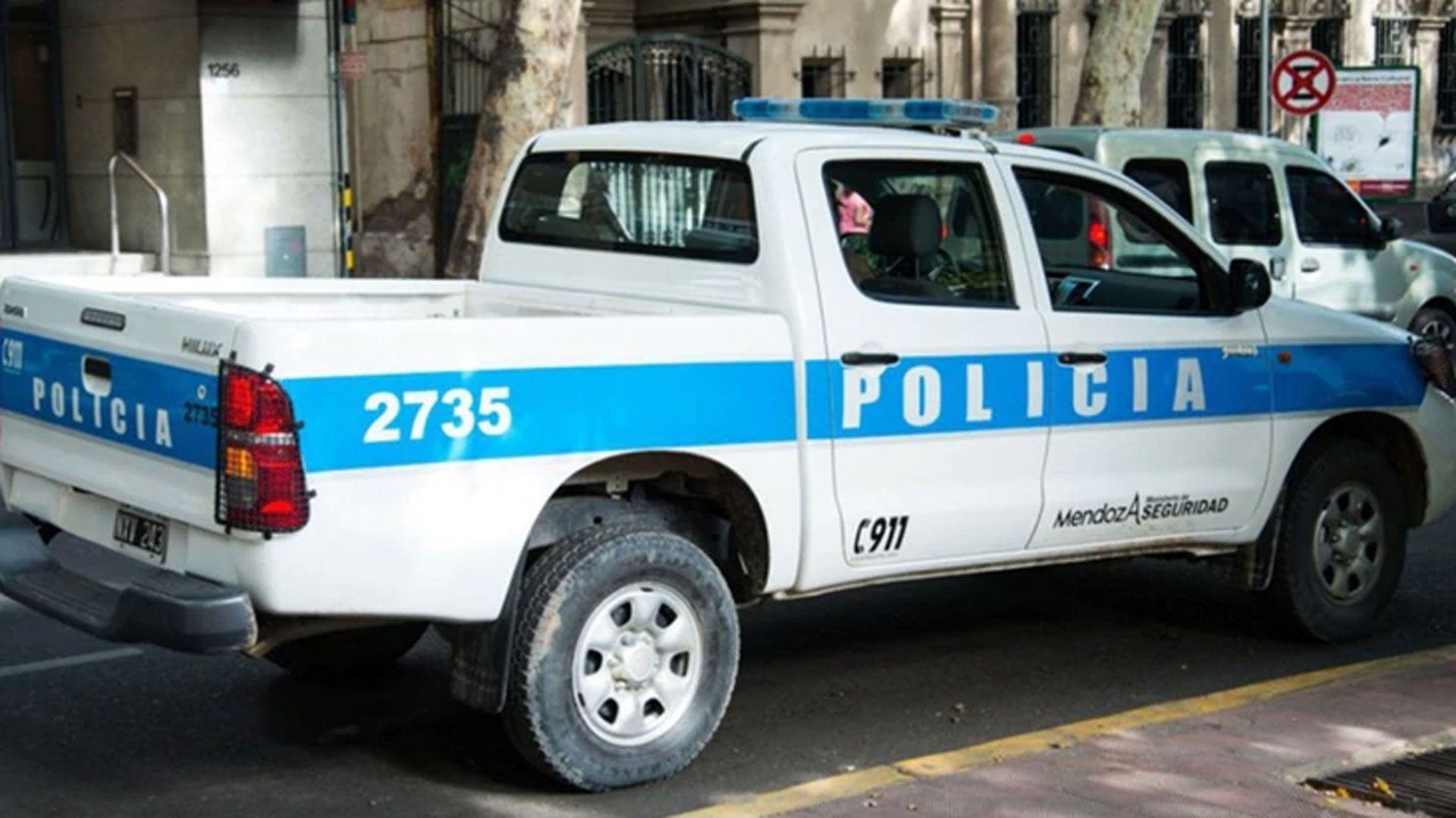 Patrullero de la Policía de Mendoza