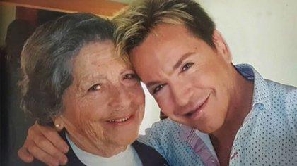 Guido Süller y su mamá, Nélida