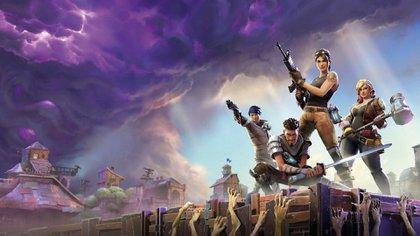 El modo Battle Royale de Fortnite permite hacer partidas de hasta 100 jugadores online.