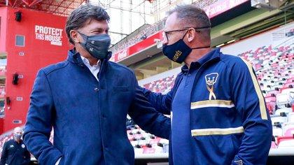 Hernán Cristante, entrenador de Toluca, aseguró que la victoria de su equipo frente a los Pumas de la UNAM no fue polémica (Foto: Cuartoscuro)