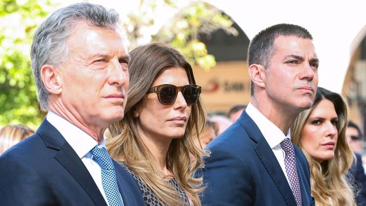 Mauricio Macri, Juliana Awada, Juan Manuel Urtubey e Isabel Macedo (Presidencia de la Nación)