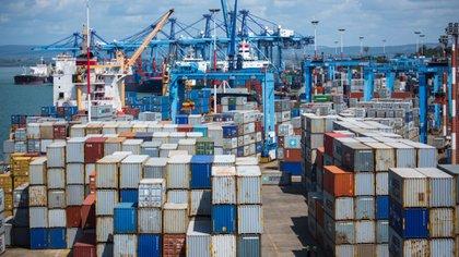 El puerto de Mombasa es el más importante de Kenia