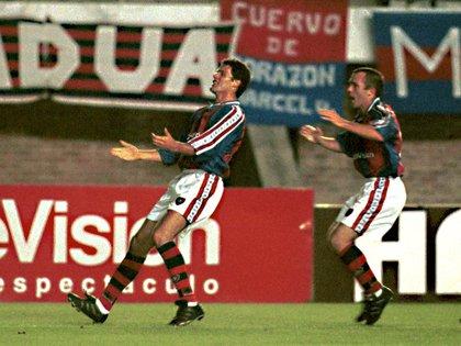 El Conde Galetto enfrentó a Riquelme con la camiseta de San Lorenzo