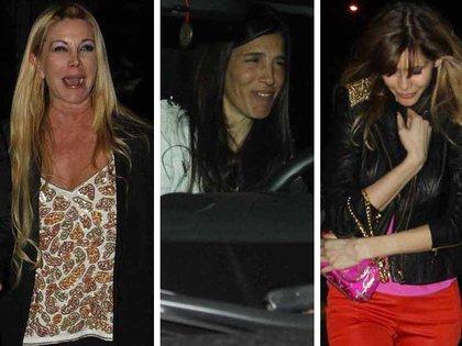 Más de una vez compartieron eventos las tres mujeres que le dieron hijos al conductor. (Verónica Guerman/Teleshow.com 164)