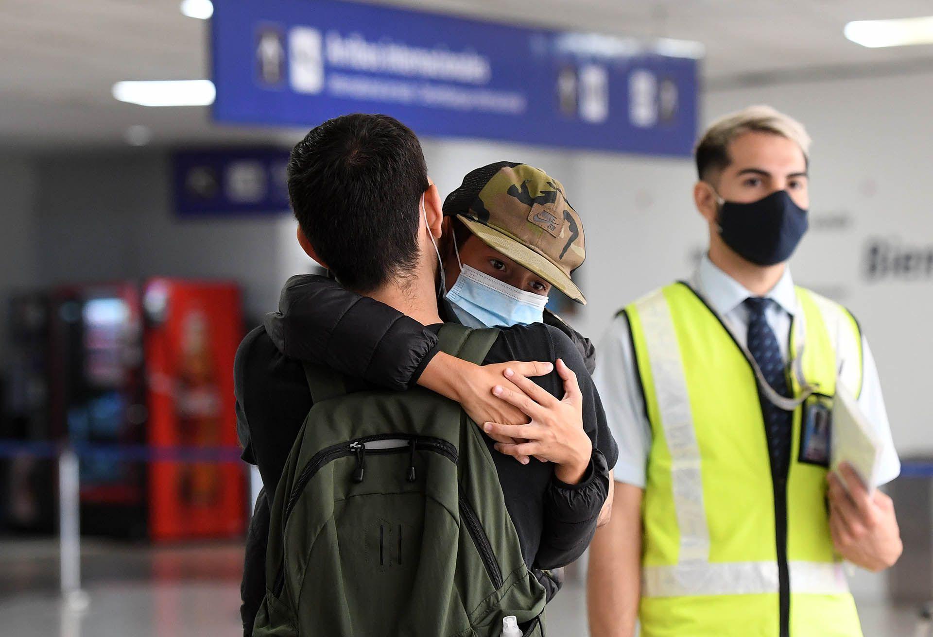 International Arrivals Ezeiza Airport