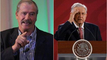 Vicente Fox y el presidente AMLO protagonizan una disputa desde hace casi 20 años (Foto: Cuartoscuro)