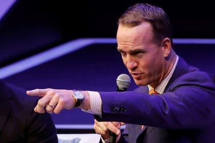 En imagen, el exmariscal de campo, Peyton Manning. EFE/Jorge N��ez/Archivo