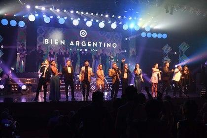 El saludo final de Bien Argentino