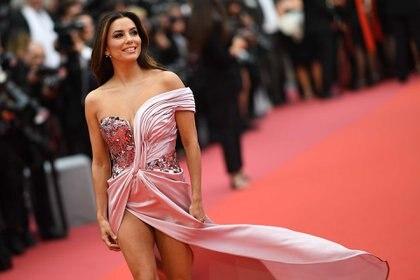 El año pasado, radiante en el festival de Cannes . (Photo by LOIC VENANCE / AFP)