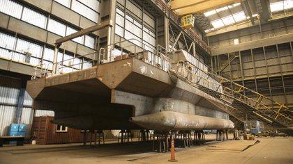 Tandanor dependiente del Ministerio de Defensa posee capacidad para construcciones navales (Gastón Taylor)
