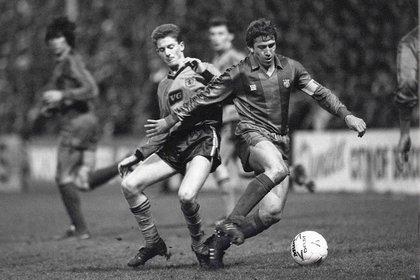 Se destacó en Zaragoza, Barcelona y Sampdoria. Y jugó dos Mundiales con España, en 1982 y 1986 (Colorsport/Shutterstock)
