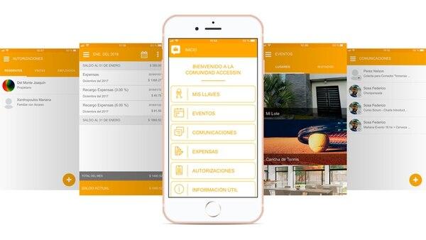 La plataforma permite coordinar el uso de instalaciones y pagar expensas a través de la misma