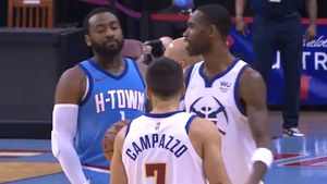 El cruce verbal con una estrella de la NBA y otro gran partido defensivo que generó elogios: lo mejor de Campazzo en la victoria de Denver