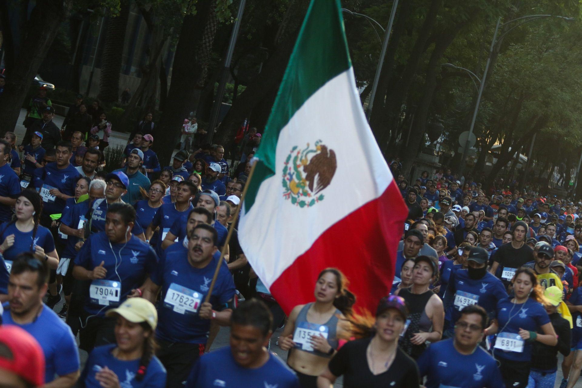 El evento contará con al menos 25.000 corredores (Foto: Instituto del Deporte de la Ciudad de México)
