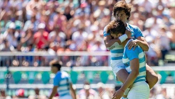 Los Pumitas también se consagraron en la final frente a Francia (Foto: Jed Leicester for OIS/IOC)