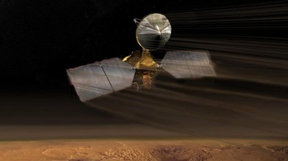 La nave de la NASA orbita Marte y obtiene fotografías valiosas sobre su superficie