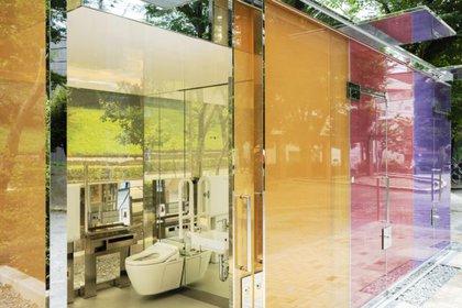 Aun en Japón, que tiene altos estándares de higiene, los baños públicos causan desconfianza a la población. (Satoshi Nagare/tokyotoilet.jp)