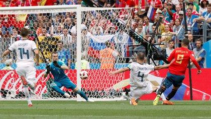 Rodrigo Moreno Machado disputó la última Copa del Mundo representando a la selección española (REUTERS/Grigory Dukor)