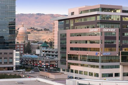 El centro de Boise, la capital de Idaho (Foto: Patrick Rodriguez)