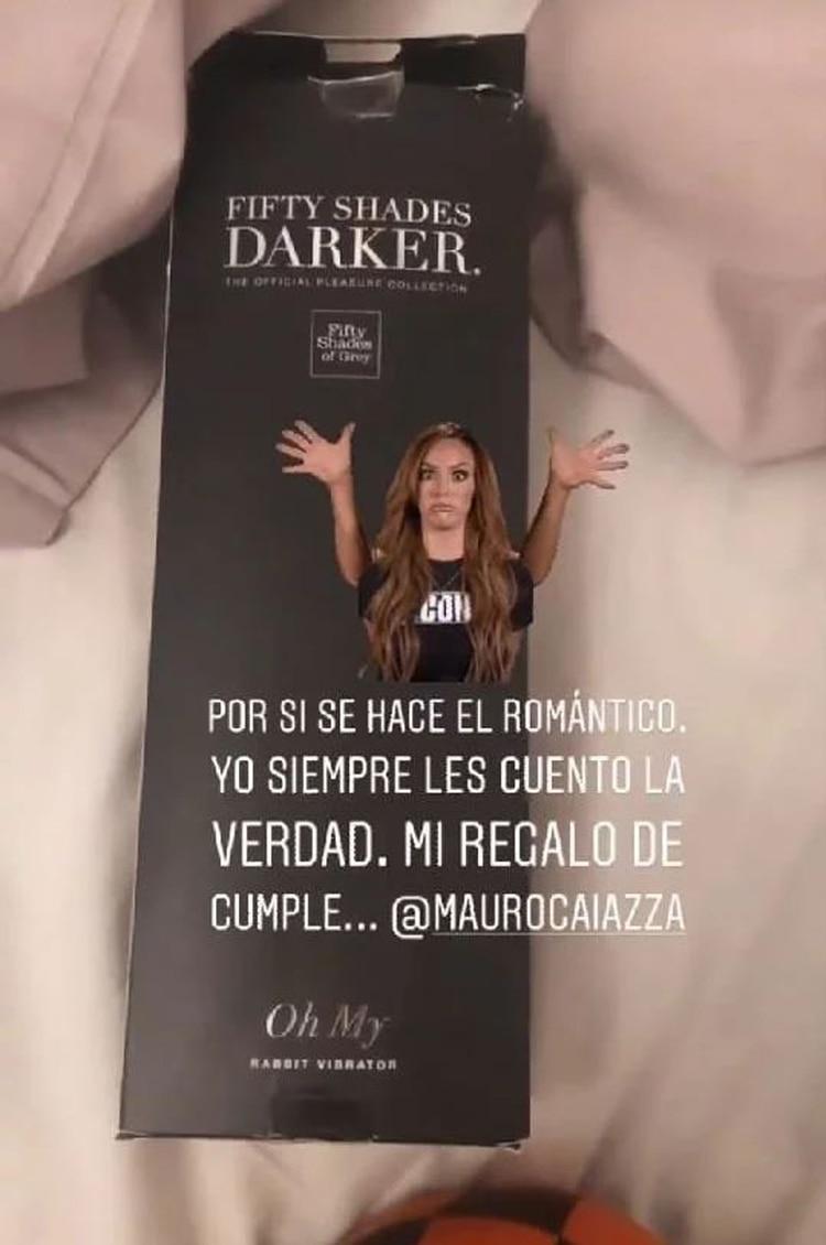 El regalo íntimo que le hizo Caiazza a su novia (Foto: Instagram)