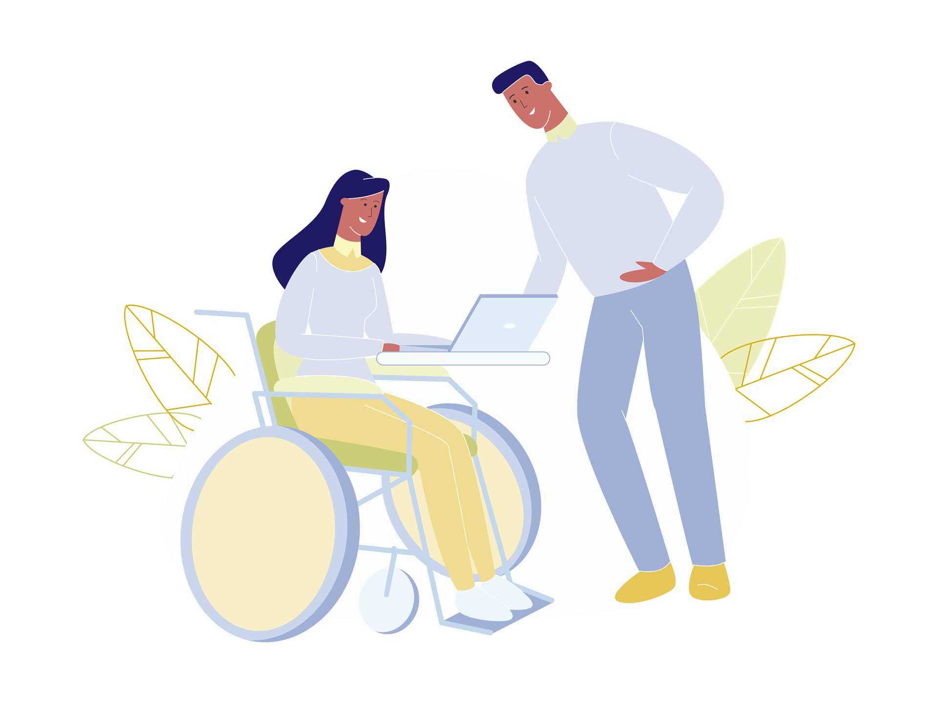 discapacidad tecnología