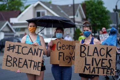 George Floyd falleció a la edad de 40 años - AFP