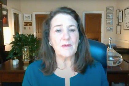 Diana DeGette, presidenta del Subcomité de Supervisión e Investigaciones, parte del Comité de Energía y Comercio del congreso estadounidense, condujo la audiencia virtual.