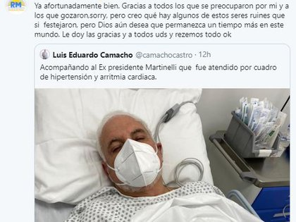 El tuit de Ricardo Martinelli