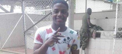 Anderson Abroleda, joven afro de 21 años que murió después de una golpiza policial en Puerto Tejada, Cauca.