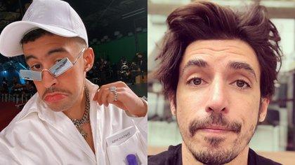 La serie se renovará y buscará suplir la ausecia de Diego Luna con actores como Alberto Guerra e inclusive Bad Bunny (Foto: Instagram @  badbunnypr /el_guerra)