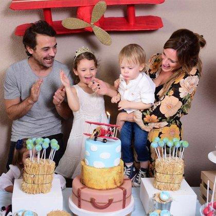 La familia en pleno festejo. (Foto: Instagram)