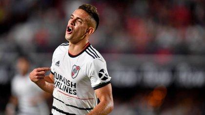 Borré anotó cuatro goles en lo que va del 2020 (Foto: Télam)