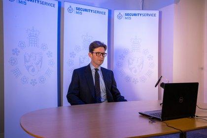 Ken McCallum, nuevo jefe del MI5 británico (UK Government/Handout via REUTERS)
