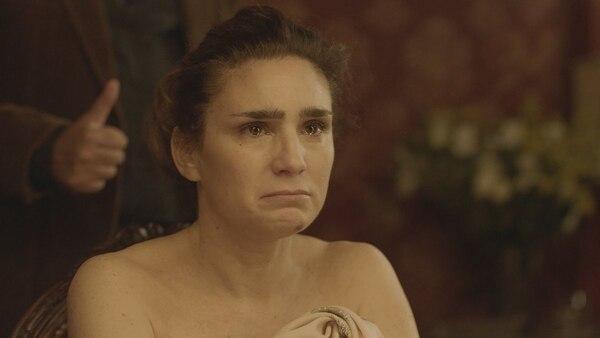 "Bertuccelli, en una escena de ""La Reina del Miedo"""