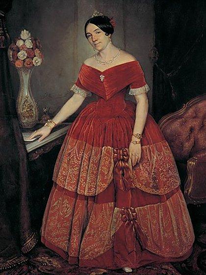 Encarnación Ezcurra, esposa de Juan Manuel de Rosas