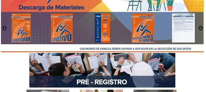 "When entering the website of ""Comipems"", you must click on the large tab that reads ""Pre-register"" (Photo: website www.comipems.org.mx)"