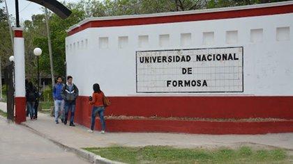 La sede de la Universidad Nacional de Formosa